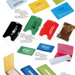 Logo business card holders, Glasses Clean Cloth Holder