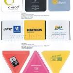 Inexpensive Mini Ice Scrapers with custom logo Imprint