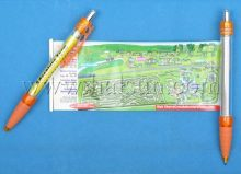custom map pens,scroll map pens,banner map pens