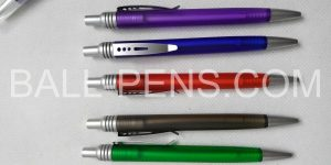 Slim Barrel Pens Metal Clip